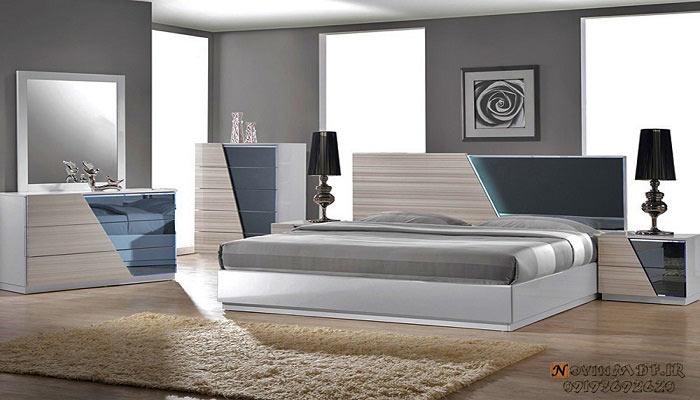 تخت خواب دونفره هایگلاس