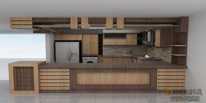 طرح کانترآشپزخانه