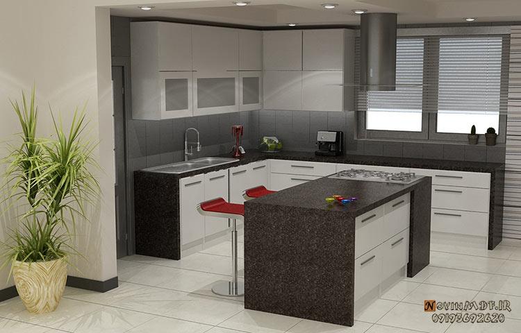 جزیره کابیت آشپزخانه