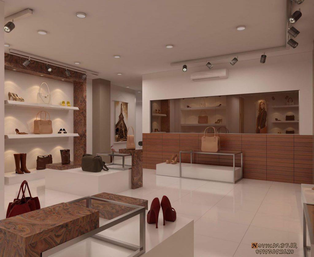 طراحی فروشگاه کیف و کفش