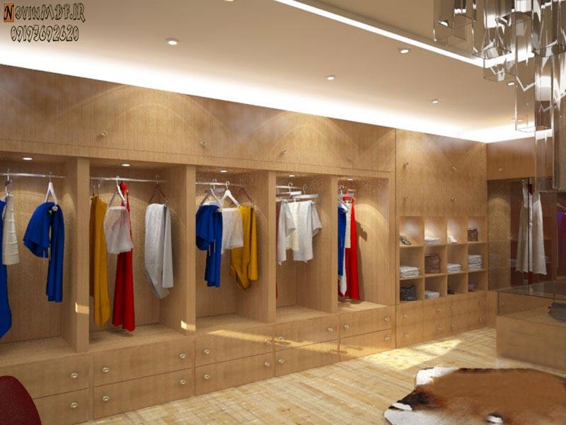 اجرای دکوراسیون برای لباس فروشی