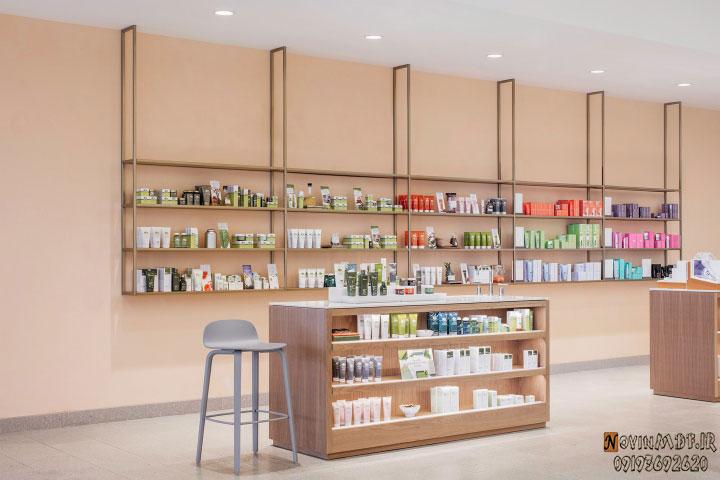 طراحی فروشگاه مواد غذایی